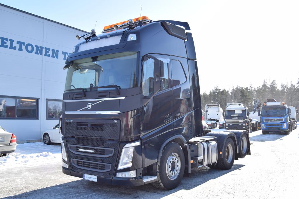 Volvo FH540 6x2 Black Hydrauliikka, Siirtopöytä vm 2013