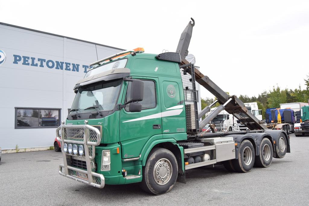 Volvo FM480 8x4 Tridem JOAB 24T Koukkulaite vm 2006