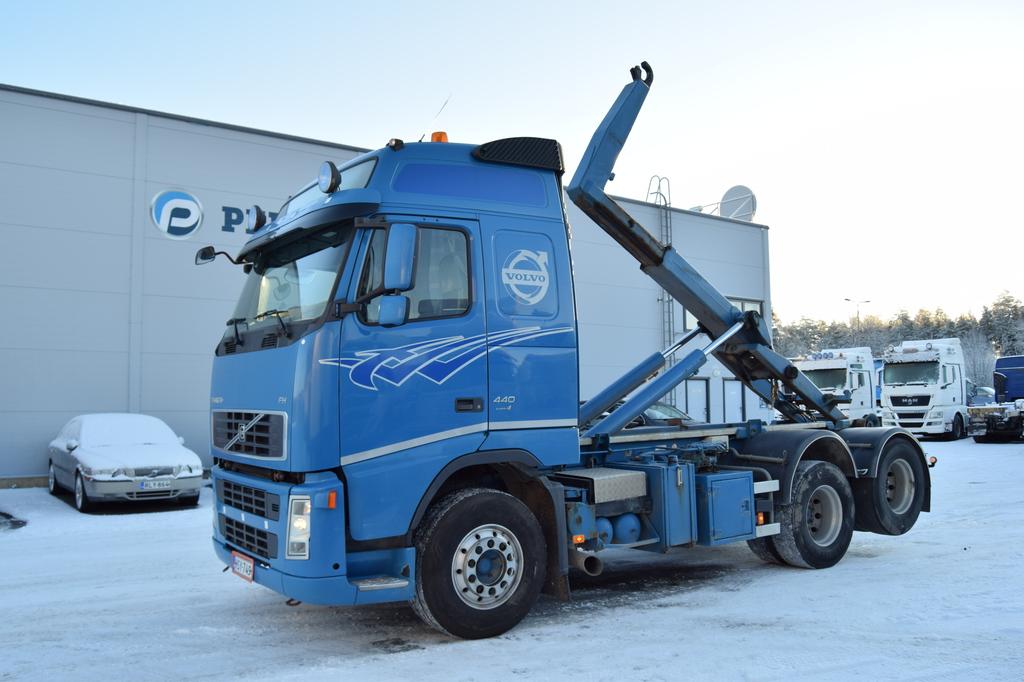 Volvo FH440 6x2 Koukkulaite vm. 2008