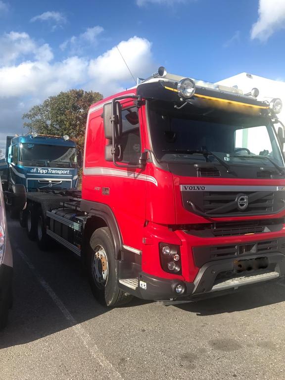 Volvo FMX500 8x4 Tridem