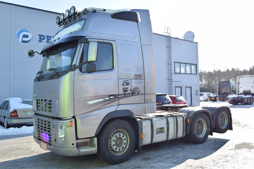 Volvo FH660 6x2 Hydrauliikka vm 2008